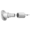 22 Series Cam-Type, 15 Degree Female Panel Ball Nose, Threaded Stud with Microswitch