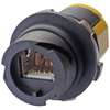 Ruggedised G2 Z-MAX outlet, Category 5e, Shielded, T568A/B
