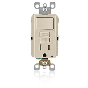 Leviton SmartLock Pro Combination GFCI Outlet/Switch