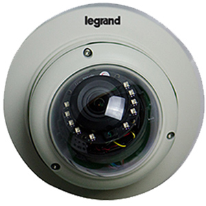 Legrand - On-Q Outdoor 1080 IR Dome Camera with Zoom