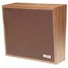 Dark Brown Cloth Grille Talkback Wall Speaker