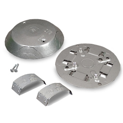 Legrand - Wiremold 1500 and 2600 Series™ Steel Pancake® Overfloor Raceway Junction Box