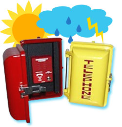 weatherproof phones, allen tel phones, emergency phones, no dial phones