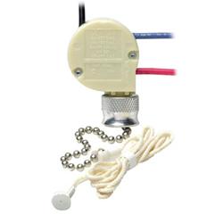 Leviton Single Pole Pull Chain Switch