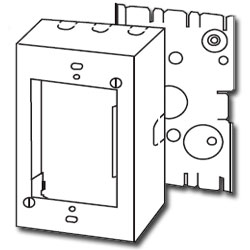 Legrand - Wiremold 500® and 700® Series One-Piece Steel Surface Raceway Shallow Device Box