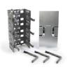 VisiPatch 360 12U Vertical Trough Cable Management Kit