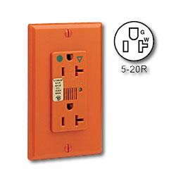 Leviton Hospital Grade, Isolated Ground, Surge Duplex with Indicator Light & Audible Alarm