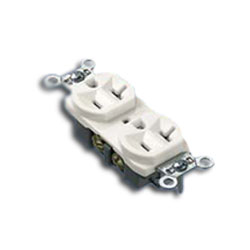 Panduit® Pan-Way 20A 106 Duplex Outlet (Pkg of 10)