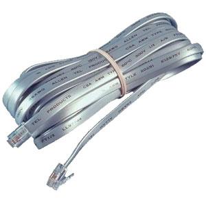Allen Tel Full Modular Line Cord - 6 Conductor