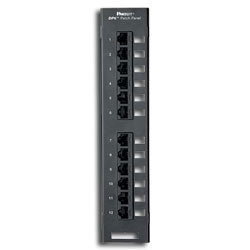 Panduit® DP6 Plus 12-Port Patch Panel (RoHS Compliant)