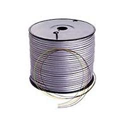 Lynn Electronics Silver Satin Phone Line Cord - 6 Conductor Spool