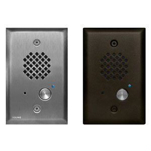 Compact Single-Gang Entry Phone with LED