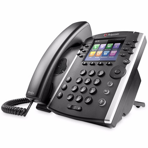 VVX411 12 Line IP Phone with Power Supply
