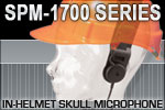 SPM-1700 Series - In-Helmet Skull