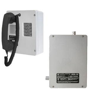 Intrinsically-Safe (I.S.) Telephone with Isolation Barrier Unit