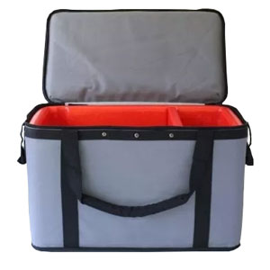 Specimen Transport Tote with Document Window Large