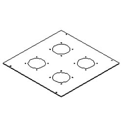Southwest Data Products Series 2000 Top With Fan Holes