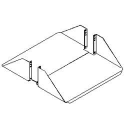 Southwest Data Products Steel Double Sided Rack Shelf