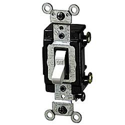 Leviton 3-Way Lighted Toggle Switch