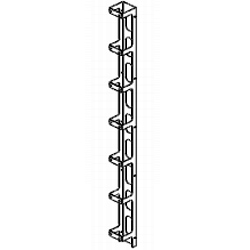Southwest Data Products CMC Vertical Cable Manager, Black