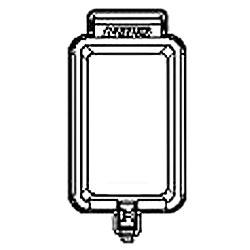 Leviton Rain Tight While-in- Use Duplex Receptacle Covers