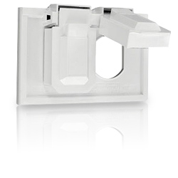 Leviton Duplex Receptacle or Combination Device Thermoplastic Weather-Resistant Covers
