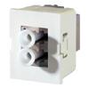 TracJack Module, 1-LC (2 Fibers) Multimode, 180 Degree Exit