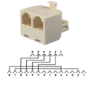Auxiliary Power T Adapter