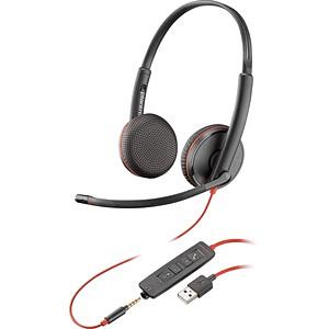 Blackwire 3325 Microsoft USB-A Binaural Headset