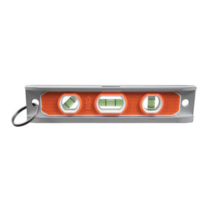 Magnetic Torpedo Level with Tether Ring