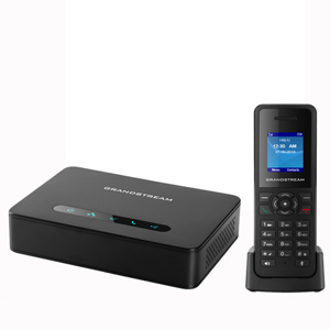 DECT VoIP System with Base and 1 Handset