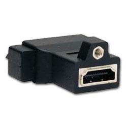 Hubbell AV Connector, DVI to HDMI Female/Female Coupler