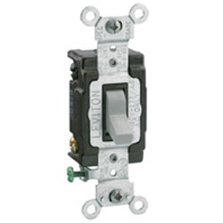 Leviton Toggle 4-Way AC Quiet Switch
