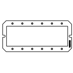 Legrand - Wiremold Evolution 6AT Series Device Plate