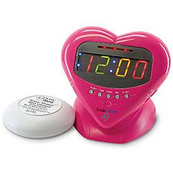 Sonic Alert Sonic Boom Sweetheart Alarm Clock