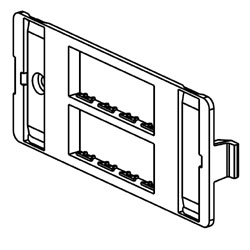 Legrand - Wiremold 5507 Series™ Ortronics Faceplate
