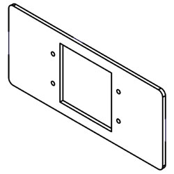 Legrand - Wiremold 5507 Series™ Extron MAAP Faceplate