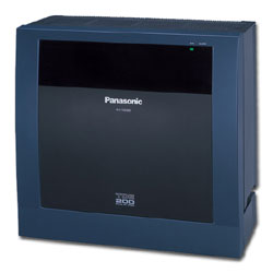 Panasonic KX-TDE200  Converged IP PBX Control Unit with up to 256 Extensions