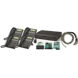 SL2100 Digital Quick-Start Kit with (4) 12 Button Telephones