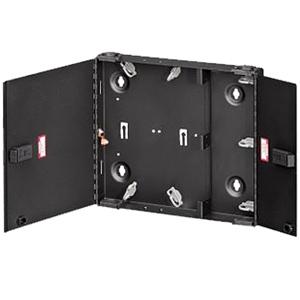 Small SDX Wall-Mount Fiber Enclosure Empty with Dual Door & No Lock