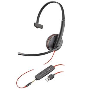 Blackwire C3215 Monaural Headset USB-A