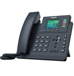 Entry Level IP Phone with 4 Lines & Color LCD