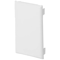 Panduit® Single Gang Snap-On Blank Cover Faceplate