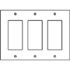 RFB9 and RFB11 Series GFI Receptacle Device Plate