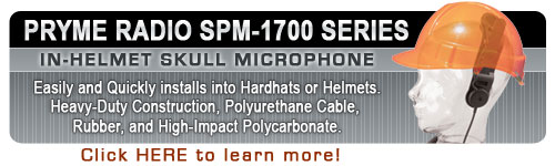 SPM-1700 Series - In-Helmet Skull