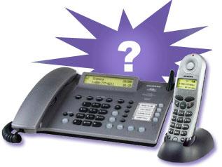 siemens gigaset, 2 line telephones, 2.4ghz telephones, cordless telephones