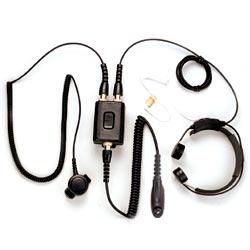 Pryme Heavy Duty Throat Mic for Motorola Radios