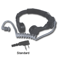Pryme Heavy-Duty Throat Microphone for Midland Radios