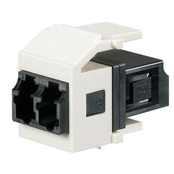 Panduit® Netkey Keyed A Duplex LC Adapter Module with Zirconia Split Sleeves