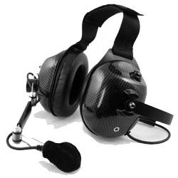 Pryme Carbon Fiber Dual Earmuff Headset